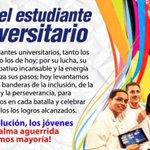 """???? (...)Y es que a la """"LEVADURA"""" del pueblo, el futuro les pertenece. #FelizViernes #EstudiantesConLaRevolucion http://t.co/20pSKKY18i"""