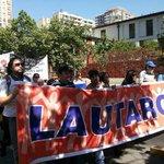 AHORA: Profesores de Lautaro y Coelemu marchan por sus demandas en #Santiago #ParoDocente. http://t.co/jM9o1adVnI