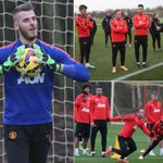 Boost for #MUFC as Di Maria, De Gea, Carrick and Shaw ALL train ahead of Arsenal clash http://t.co/A80ZFhAx81 http://t.co/BmsXPquhqz