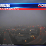 Foggy in Fresno. Visibility at 3 miles and dropping. http://t.co/gRv0P8gW78