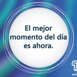 """""""El mejor momento del día es ahora.""""  Aprovecha al máximo de este viernes. http://t.co/03en6VA0M9"""