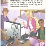 Crying over #FeministHackerBarbie #gobarbie http://t.co/OUi9AKye6B