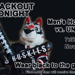 Wear black in support of the mens hockey team Nov. 21 at the Herb Brooks National Hockey Center. http://t.co/w3btRl3CRu