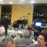 """Conseller Vila als empresaris de Ponent """"#Lleida ha de conectar amb el Port de Tarragona, és prioritari"""". http://t.co/IqyeX0ZI5O"""