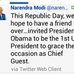 They said @narendramodi is just a regional leader. I Forgot to add - his region extends to the whole world. http://t.co/csUv3rfMwY