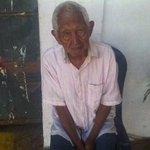 La @Polinagua rescató a este Sr. extraviado en La Campiña. Dice llamarse José Silva. ¡Favor difundir a familiares! http://t.co/yUeKSVVXA9