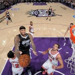DeMarcus @boogiecousins (22 points, 14 rebounds) recorded his league-high-tying ninth double-double of the season. http://t.co/Il7bQvw8hP