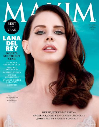 Introducing @LanaDelRey as Maxim's official Dec/Jan 2015 cover girl. http://t.co/iOlN9Ymgix #MaximGirl http://t.co/bRMdSvExFA