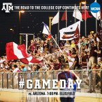 #GAMEDAY is bigger than the weather, especially when a trip to the Sweet 16 is on the line. Be at Ellis Field at 7pm! http://t.co/AngKuUwQOA