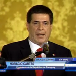 #ENVIVO Presidente del Paraguay, Horacio Cartes en su visita a Ecuador. http://t.co/nVrrb3t82V