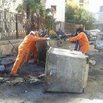 ابطال شركة الخدمات العامة وحملات مستمرة لتنظيف مناطق #بنغازي من القمامة.. #ليبيا #Libya http://t.co/RdgQEsUiBt