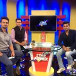 Back on Star Power tonight with  @Sid71083 and Anmol. Talking about sledging in Aus. Star Utsav and SS3 at 10.30pm http://t.co/6nnvSIn41c