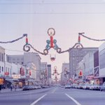 Fayetteville Street Christmas Decorations - c. 1968 (photo from N&O) http://t.co/UgpzXJDwaL