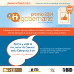 #Oaxaca está nominado como finalista en el Premio #Gobernarte2014 x @el_BID¡Apóyanos votando! http://t.co/Mc4rFzVG4W http://t.co/Sz1EprTGXt
