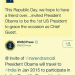 Tweets that brought the big India-US diplomatic development to the public domain. http://t.co/cnUba9fNAD