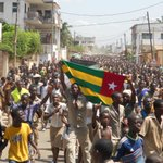 #Togo: thousands went out to the streets in #Lome today to demand the resignation of the president http://t.co/ggfzzN2K1C