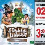 ¿Y dónde está la navidad? #Grinch y Santa Claus te esperan este domingo 3pm para rescatar la navidad. 200bs http://t.co/uER5n2obO3