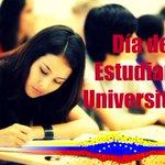 #Efemérides  Venezuela celebra Día del Estudiante Universitario >>http://t.co/C0sJYMdAPy #EstudiantesConLaRevolucion http://t.co/Auzi4a2UNV