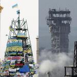 Испытаний все больше, сооружения все сложнее. Но украинский флаг будет всегда стоять. http://t.co/jAMcTBuwJF
