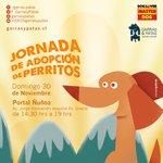@soychilecl RT Jornada Adopción Perritos en Portal Ñuñoa Dom 30/11 No se la pierdan! http://t.co/dJlpf2Qb75 http://t.co/oEQemuiQJ8
