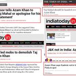 Hey @yadavakhilesh Why not sack Azam Khan & send him for treatment @gauravbh @timesnow @BDUTT @rahulkanwal @abpnewstv http://t.co/CMXXlnHLHb