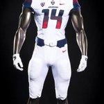 UNI COMBO: @ArizonaFBall will wear blue helmets along with white jerseys and pants! #BearDown #AZvsUtah #BoottheUtes http://t.co/eE4c0oTyeI