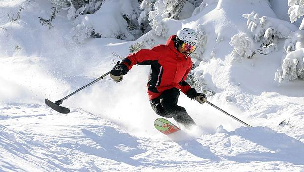 Proof that nothing is impossible! @vasusojitra19 - Athlete hits the backcountry http://t.co/4TirTqjpGS http://t.co/LVdlaBqr2k