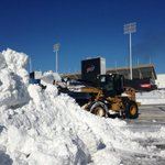 Snow removal at Ralph Wilson Stadium home of the Buffalo Bills http://t.co/DTmOi7uQVV