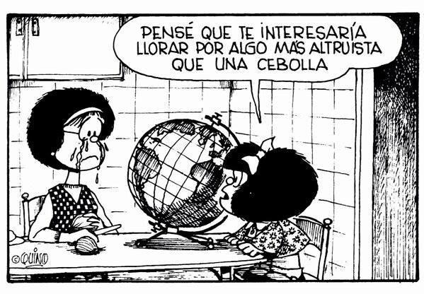 Resultado de imagen para mafalda y el mundo