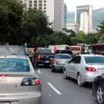 via @giannitorlone: Av. Mèxico completamente embotellada a la altura del Teresa Carreño... 12:36 PM... http://t.co/l5xQNlibA4 #Caracas