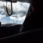 Driving w @NYGovCuomo through impacted areas of Buffalo, West Seneca #WinterStormKnife. Amazing scenes of snow http://t.co/Pvh5Rp660m