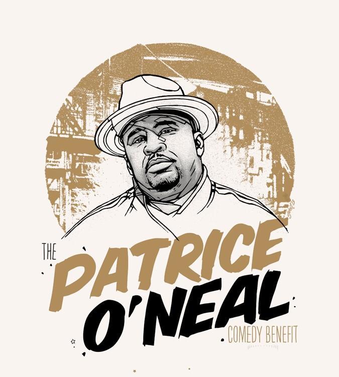 '3rd Annual Patrice O'Neal Benefit'.  Feb 11, 2015.  Get tix: http://t.co/kNDvTZo36R http://t.co/n1V2dK4NVB