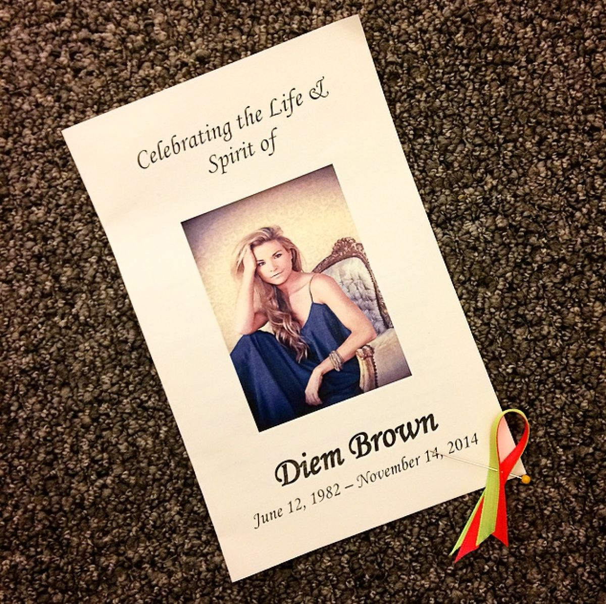 "Diem Brown remembered as a ""dancing angel, cancer crusher"" at NYC memorial:"