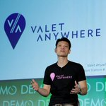 RT @DEMO: .@val8me launches an on-demand parking service, or