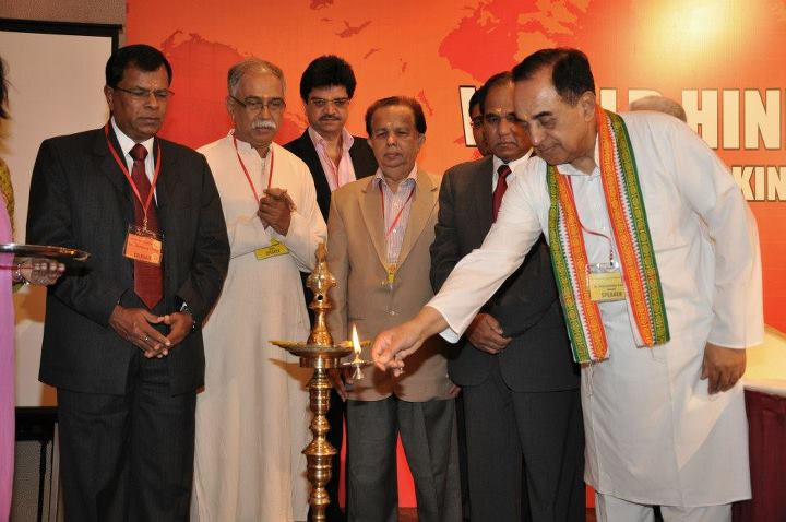 Dr @Swamy39 inaugurating 1st World Hindu Economic Forum http://t.co/6TsF5P5ujq #WorldHindu http://t.co/YKs0TJem0q