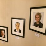 A woman gets her picture on the official wall of First Minister photos. Good day for Scotland whatever your politics http://t.co/DAZL7iBjFY