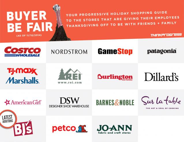 These retailers are doing the RIGHT thing by not making their employees work on #Thanksgiving http://t.co/IWRse1o5Nz http://t.co/haxKc0j5SA