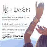 Our trunk show @DASHBoutique is almost here!!  http://t.co/uzw0loxHA4 http://t.co/Yqnh8XEUmc