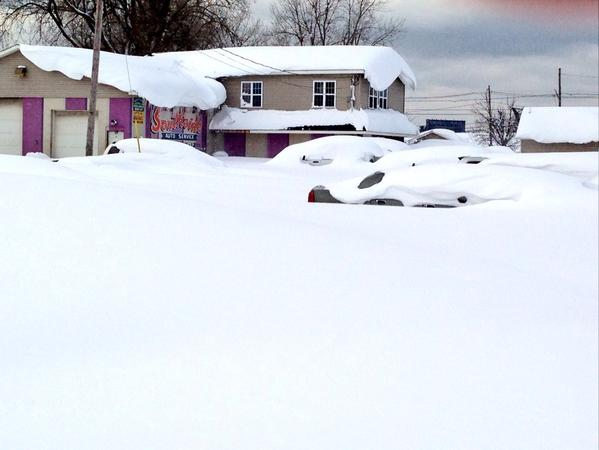 See the images: Buried cars, grocery shopping via sled -- inside the snow standstill. http://t.co/nn3AlDBM6y http://t.co/mdH1G4NXp4