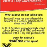 Dont ever let Labours project fear strike again... http://t.co/M6f0htjIUQ