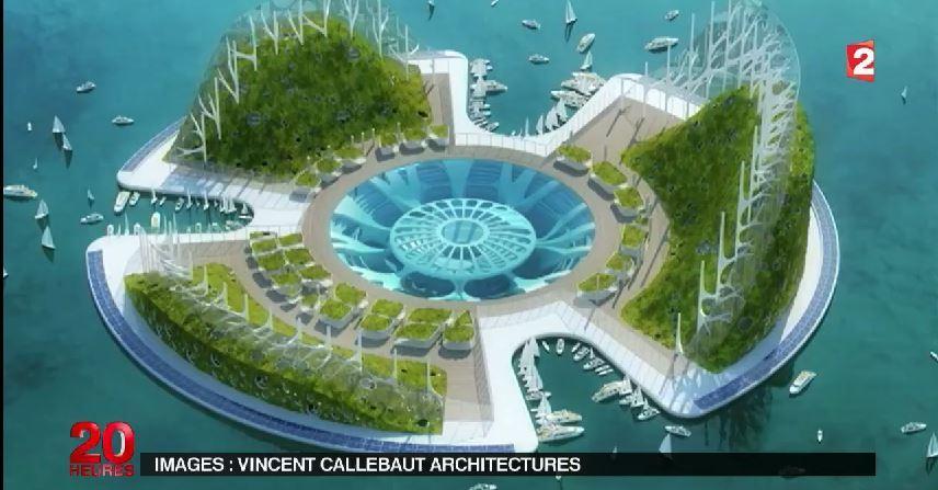 video nos maisons bient t sur l 39 eau habitat amphibie du futur le dossier du 20h france2. Black Bedroom Furniture Sets. Home Design Ideas