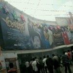 RT @sagarnayak_sagu: @dasadarshan @priyamani6 All d best Ambareesha team movie got a bigg opening in all centers.. http://t.co/ei8W7Bzm9G