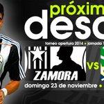¡Nuestro próximo desafío! #ZamoraFC vs Llaneros FC | Dom. 23/11 (6:00pm) | Estadio: Agustín Tovar | #VamosALaCarolina http://t.co/Kk8USVr0oK
