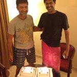 Happy birthday Saar!!! @sakthisaracam and happy Anna!! @subbu6panchu God bless u both!!!