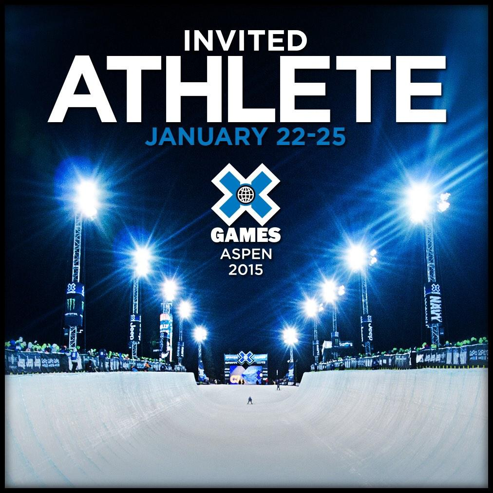 Got my @xgames invite! So pumped :) http://t.co/uHrmwQ2A7b