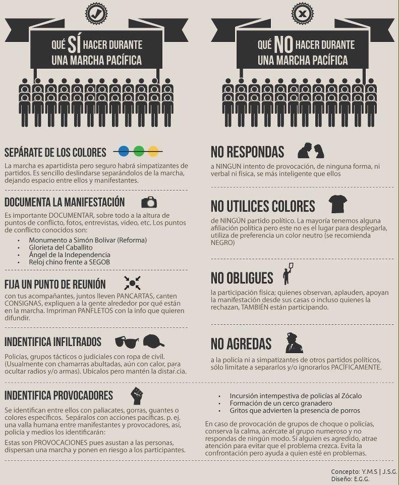 Consejos básicos para mañana #20NovMx #AyotzinapaSomosTodos http://t.co/xoJgrOyRnN