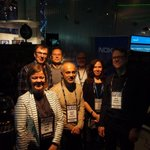 RT @nokianetworks: Our Nokia Networks team with CTO Hossein Moiin thanking all the visitors at #slush14 - see you next year! #innovation ht…