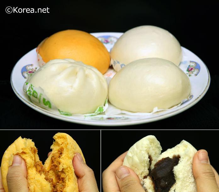 韓国の冬の定番おやつのひとつ「ホパン」!日本の肉まんと似ていて、小豆味から野菜味やピザ味、ギョーザ味、キムチギョーザ味、カレー味など種類も豊富です。コンビニや小型のスーパーで買えます!これから寒い韓国に行くならぜひどうぞ! http://t.co/sFqaEcwqVT