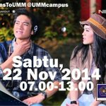 Cant wait to crash your campus in Malang with @boywilliam see ya there peeeeeps!!! #BreakoutGoesToUMM http://t.co/oLgi2PGDYt