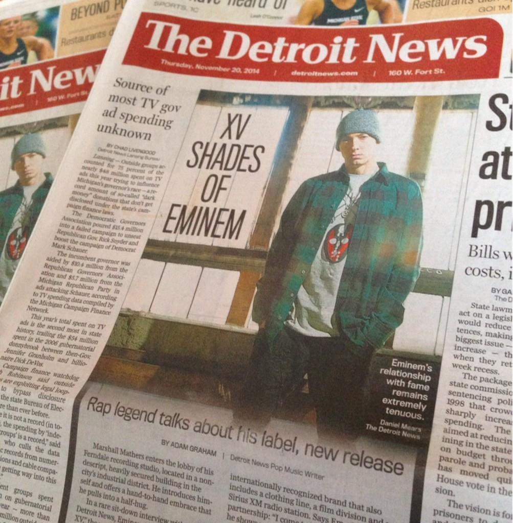 I talked to @Eminem and @rosenberg about #ShaddyXV in today's @detroitnews. Go pick up a copy. http://t.co/s7Gp0RxDRI http://t.co/9nhnICO2bN